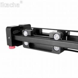 Nouvelle caméra Slider vidéo Dolly 50cm Stabilisateur rail de rail 100cm Distance de glissement pour Canon Nikon Accessoires Sony Studio photo à partir de dolly vidéo curseur fabricateur