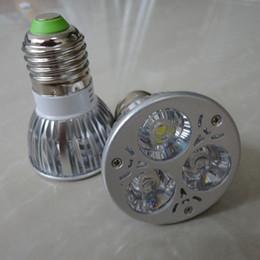 Top CREE E27 GU10 MR16 Projecteur LED 6w Spot Ampoule haute puissance Lampe de plafond lumières Warm White Pure White AC DC 12V ou 85-265V à partir de dc a mené la lumière au plafond fabricateur
