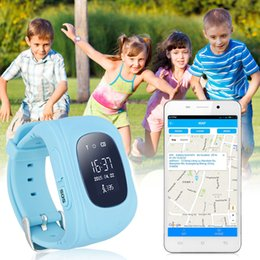 Cute Smart Watch Children Kids Baby Guard Wristwatch Q50 SIM GPRS GPS LBS Locator Tracker Anti-Lost SOS Call Smartwatch for Android Iphone 7
