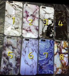 Wholesale 2016 Marble degin Phone Case for iPhone6 S Plus S SE Soft Smooth TPU Cover case thin Back Cover
