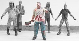 Figuras de la gente modelo en venta-Venta al por mayor- 1/35 escala bioquímicos zombi 6 personas Resina modelo figura Kit de envío gratis