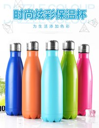 Wholesale Swell Stainless Steel Water Bottle With SWELL BOX Vacuum Mug Flask Cup S well Sports water Bottles OZ ml Best quality