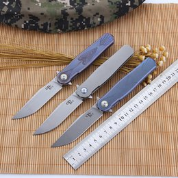 ch 3505 CH3505 s35vn titanium handle knife Ball bearing washer tc4 folding blade pocket knives Camping Survival gear