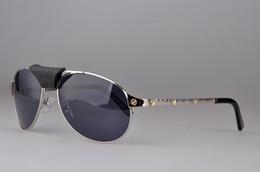 Купить Онлайн Франция человек-Бесплатная доставка 2017 солнцезащитные очки нового способа защиты Франция бренд дизайнер CT1234567 овальные очки УФ для мужчин и женщин стеклянной линзой