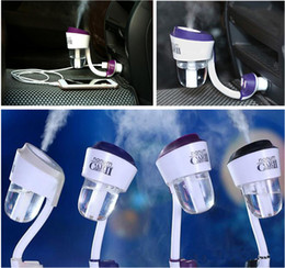 Wholesale 2016 NEW Nanum V ML USB Car Air Humidifier Car Charger Fresh Refreshing Fragrance ehicular essential oil ultrasoni humidifier