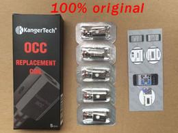 100%original Kanger Subtank occ coils Vaporizer Coil OCC 0.5ohm 1.2ohm 1.5ohm Coils for Kangertech Subtank mini nano plus subox tank