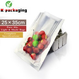 5 pcs Heat Seal Foil Bags 25x35cm Clear Foil Pouch Packaging   Vacuum Snack Bag   Heat Seal Foil Bags