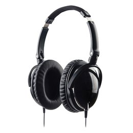 Wholesale Newest Aviation Noise Cancelling Headphones With Mic Foldable Over Ear HiFi Anti Noise isolation Headset Networld Earphone