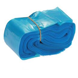 Compra Online Clips de bolsas-Las mangas de la manija de la cuerda del clip de Wholesale-100pcs cubren la fuente de la seguridad higiénica desechable 2x24 plasticbarrierbarrier