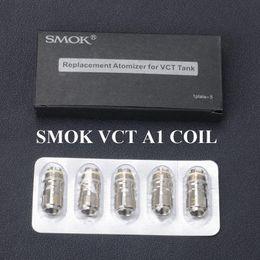 Venta al por mayor-cigarrillo electrónico Vape Box Mod Vaporizador SMOK VCT A1 bobina 1.2 ohm X9063 vct electronics on sale desde la electrónica de apv proveedores