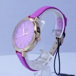 Wholesale Cheap White Gold Watches - Free shipping The new 2016 cheap watches high-grade alloy rose gold case lady wrist watch for girls gift