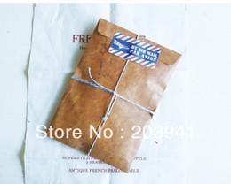 Wholesale mm New vintage kraft paper envelopes antique kraft gift envelope