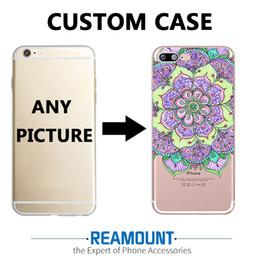 3D Mandalas Relief DIY Customized Mobile Phone Case Cover TPU Transparent case for Iphone 7 DIY Custom LOGO Pictures