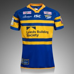 Wholesale New Zealand Rugby Jersey best quality shirt Leeds Rhinos Super League ISC Home Away Shirts