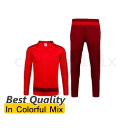 Wholesale HUMMELS Best Quality Soccer Jersey Trainingsuit Soccer Tracksuit RIBERY ROBBEN munich MULLER BOATENG BERNAT Football Uniforms