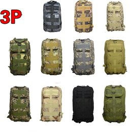 Designer Backpack Camouflage Backpacks Military Tactical Bag Molle Rucksacks Outdoor Sport Camping Walking Bags Travlling 30L Luggage