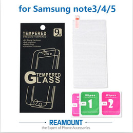 2.5D Explosion-Proof Screen Protector Film Guard for Samsung Note 3 Note 4 Screen Cover Tempered Film with Cleaning Tool