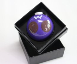 Latest Pokeball Grinder Poke Grinders Herb Grinders Metal Zinc Alloy Metal Grinder 3 Parts Gift Box Package 6 colors Drop Shipping