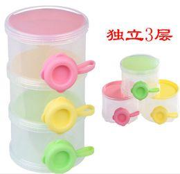 Wholesale Portable Three Side Drawer Type Milk Powder Box Professional Milk Formula Baby Supplies