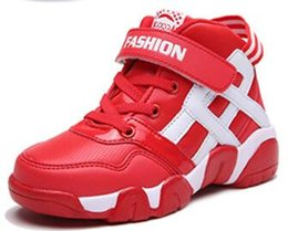 Wholesale Kids Basketball Shoes High Quality With Shoes Box For Boys Girls Gift Christmas Present