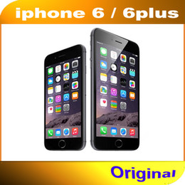 "100% Original Apple iPhone 6 6 Plus Mobile phone 4.7"" inch 5.5"" inch 2GB RAM 16 64 128GB ROM Refurbished Unlocked 4G LTE Smartphone"