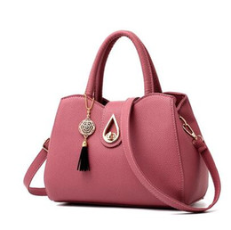 Ms Han edition fashion new shells contracted joker soft leather worn one shoulder youth casual handbags