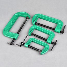 Manual heavy woodworking clip fixed clamping fixture Quick Woodworking Clip 3-4-5-6-8 inch g-type clamp steel G word clip