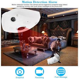 Wholesale 960P HD degrés sans fil Wifi VR IP caméra pleine vue MM Lens fish eye panoramique intérieur de sécurité CCTV Camera Phone APP télécommande
