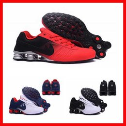 Wholesale mens air shox deliver NZ R4 tennis janoski cool running shoes top designs sneakers for men cheap boys online trainers shoes s store home