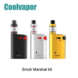 Wholesale Original SMOK Marshal G320 Kit W W Advanced Starter Kit with ml Top Refilling TFV8 Big Baby Tank Top Oled Display