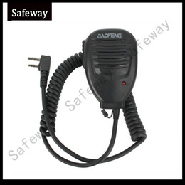 Walkie talkie baofeng speaker microphone for kenwood baofeng uv-5rUV-5R 3R PUXING two way radio Free shipping