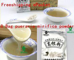 Wholesale Freeshipping g pueraria powder wild Kudzuvine Root breast enlargement anticanc protection skin whitening Green Food