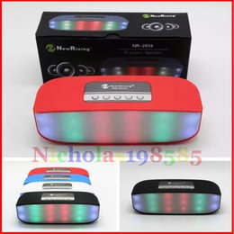 Wholesale Best Sale NR Mini Wireless Bluetooth Colorful Lamp Pulse Light Flash Speaker Support USB TF FM Function VS V318 S815 Pills XL Pill S10