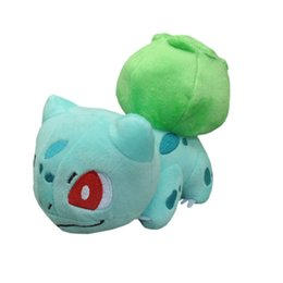 "Top New 6"" 15CM Bulbasaur Plush Doll Anime Collectible Dolls Stuffed Best Gifts Soft Toys"