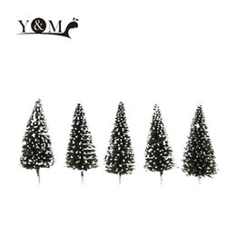 Wholesale Hot Sale Cedar Trees Model Architectural Model for Railroad Layout Beauty Trees Landscape Scenery Diorama Miniatures Model