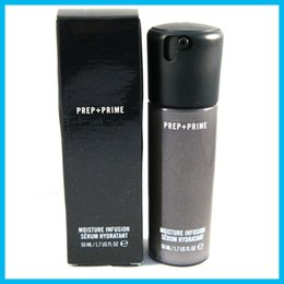 Wholesale High quality NEW Face Prep Prime Moisture Infusion Serum Hydratant Primer ml Foundation DHL