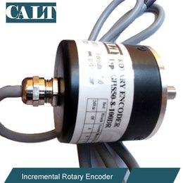 Wholesale China manufacturer CALT Speed Measure Incremental encoder GHS52 series optical sensor rotary shaft encoder