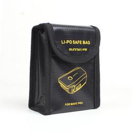 Sacs ignifuges en Ligne-Batterie Lipo anti-feu et anti-déflagrant pour DJI MAVIC PRO