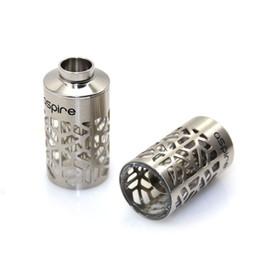 100% Authentique Aspire Nautilus ASSY Réservoir de remplacement avec Hollowed-Out manchon Nautilus tube en métal pour le nautilus 5ml DHL à partir de des tubes métalliques creux fournisseurs