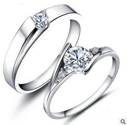 925 Sterling Silver Rings 1.25 CT HALO DIAMOND ENGAGEMENT RING & WEDDING BAND SET G-H EGL USA 14K 10pcs Free Shipping