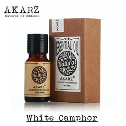 Wholesale Famous brand AKARZ pure natural White Camphor Essential Oil relieve itching Deodorant Insecticidal Reduce neuralgia Camphor Oil