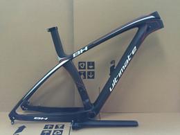 Wholesale 27 ER Full Carbon Fiber B Mountain Bike Frames BB92 mm bicicleta carbono bici telai velo in carbonio