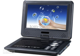 Wholesale quot Portable EVD DVD Player TV USB SD Games JPG Picture Radio Swivel LCD Screen