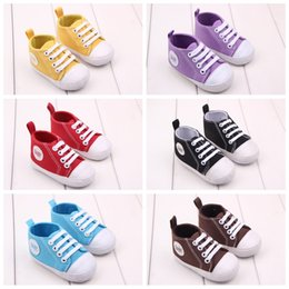 Fashion Baby Shoes Vintage Black White Cotton First Walkers Non-Slip Shoes for Baby Girls Boys