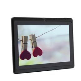 Couleur dual quad en Ligne-Vente en gros iRULU eXpro X1 7 '' Tablet Allwinner Android 4,4 Quad Core Tablet Dual Cam 8Go ROM WiFi Multi Couleur w / Screen Protector Cadeau