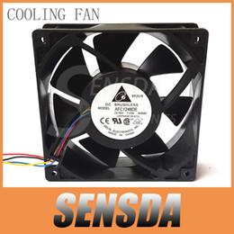 Inversor de control de velocidad en Línea-Vientos fuertes del envío libre del ventilador de enfriamiento del inversor del servidor del control de la velocidad de PWM del alambre del ventilador 48V 1.64A AFC1248DE de 12 cm 12CM