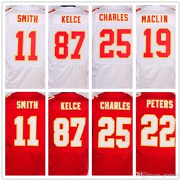 Wholesale 2016 Men Stitched jerseys Marcus Peters Travis Kelce Alex Smith Jamaal Charles Justin Houston Jerseys Free Drop Shipping