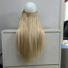 2017 22 pouces extensions de cheveux longueur 2017 Flip in Extensions de cheveux Halo Hair 1 1b 2 4 6 8 18 27 613 Mix couleurs Longueur 10-30 inch