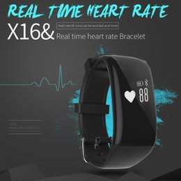 Wholesale X16 Smart Watch inch Touch Screen Heart Rate Monitor Sleep Monitor Caller Reminder Compatible with Various Systems Bluetooth Sport Smar