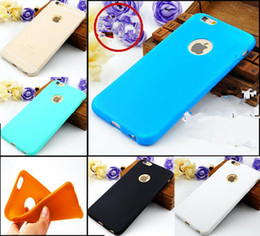 New Arrival Case For iPhone 6 Candy Colors Soft Silicon TPU Phone Case for iPhone 6s 5S 7 Plus Koke Capa